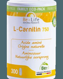 Be-Life L-Carnitin 750 300 tabletten VOORDEELPACK