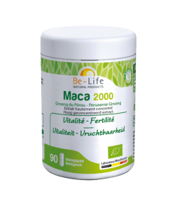 Be-Life Maca 2000 BIO 90 biologische capsules