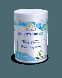 Be-Life Magnesium 500 50 plantaardige capsules