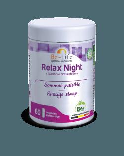 Be-Life Relax Night BIO 60 plantaardige capsules