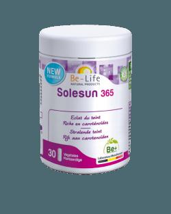 Be-Life Solesun 365 30 plantaardige caspules