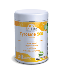 Be-Life Tyrosine 500 60 zuurbestendige capsules