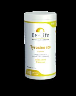 Be-Life Tyrosine 500 120 zuurbestendige capsules