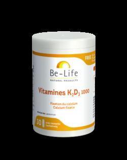 Be-Life Vitamines K2-D3 – 30 caps