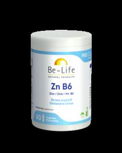 Be-Life Zn B6 60 plantaardige capsules