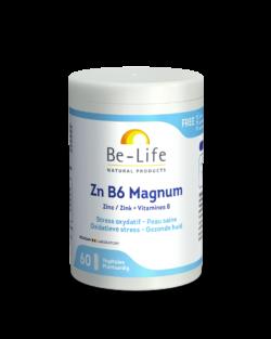 Be-Life Zn B6 Magnum 60 plantaardige capsules