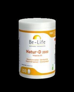 Be-Life Natur-D 2000 100 capsules