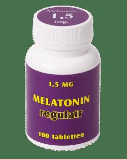 Melatonin regulair 1,5 mg