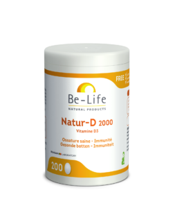 Be-Life Natur-D 2000 – 200 caps