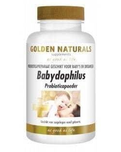 Golden Naturals Babydophilus Probioticapoeder (83 gram)