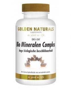 Golden Naturals Bio Mineralen Complex (60 vega caps)
