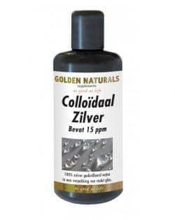 Golden Naturals Colloidaal Zilver 15 ppm 200 ml