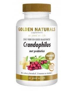 Golden Naturals Crandophilus (180 maagsap resistente vegacaps)