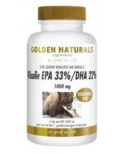Golden Naturals Visolie 1000mg EPA 33% DHA 22% (220 caps)