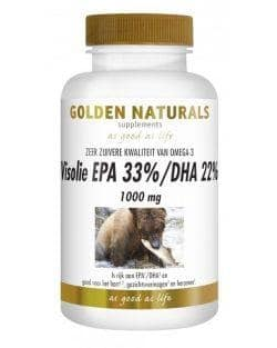 Golden Naturals Visolie 1000mg EPA 33% DHA 22% (90 caps.)