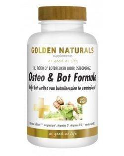 Golden Naturals Osteo & Bot Formule (90 vega caps.)