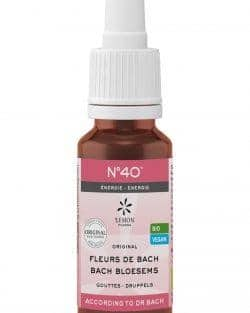 Bach bloesem melange No40 Energie – 20 ml
