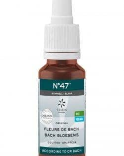 Bach bloesem melange No47 Slaap – 20 ml