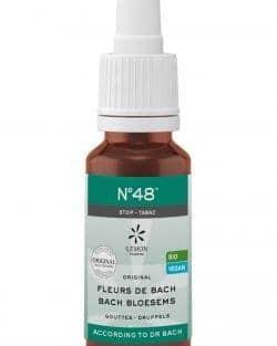 Bach bloesem melange N°48 Stop Tabak – 20 ml