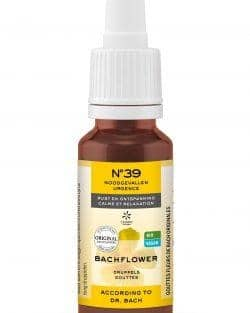 N°39 EMERGENCY® Dr. Bach Druppels DAG BIO | VEGAN – 20ml