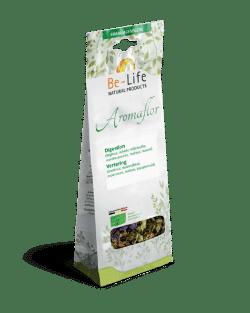 Aromaflor SPIJSVERTERING – kruidenthee BIO 75 gram