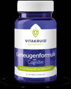 Vitakruid Geheugenformule 30 V-caps