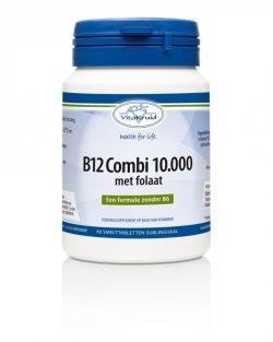 Vitakruid B12 combi 10.000 met folaat 60 smelttabletten