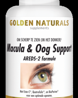 Golden Naturals Macula & Oog support 60 tabletten