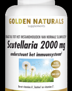 Golden Naturals Scutellaria 2000 mg 60 vegetarische caps