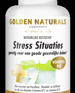Golden Naturals Stress Situaties (180 caps.)