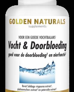 Golden Naturals Vocht & Doorbloeding 60 capsules