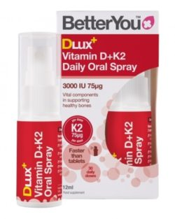 DLux Vitamin D+K2 Daily Oral Spray