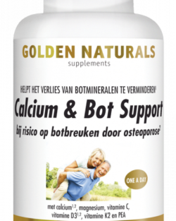 Golden Naturals Calcium & Bot Support