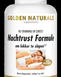 Golden Naturals Nachtrust Formule 60 caps