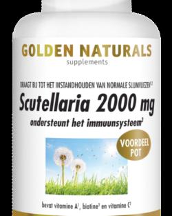 Golden Naturals Scutellaria 2000 mg 180 vegetarische capsules