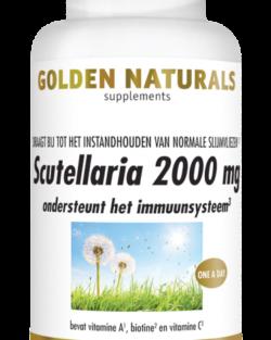 Golden Naturals Scutellaria 2000 mg 30 vegetarische caps