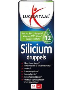 Lucovitaal Silicium Druppels 30 ml
