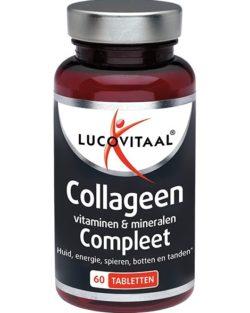 Lucovitaal Collageen vitaminen & mineralen Compleet 60 tabletten