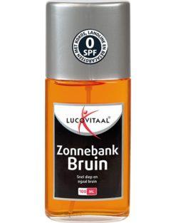 Lucovitaal Zonnebank Bruin 100 ml