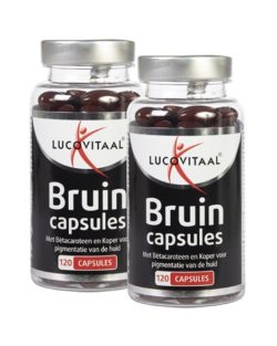 Lucovitaal Bruin capsules DUO voordeel 2 x 120 capsules