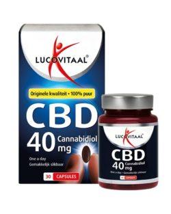 Lucovitaal CBD 40 mg 30 capsules