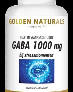 Golden Naturals GABA 1000 mg 60 vegacaps