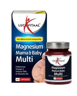 Lucovitaal Magnesium Mama & Baby Multivitamine Zwangerschap 60 capsules