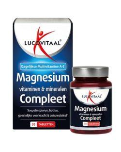 Lucovitaal Magnesium, Vitaminen & Mineralen Compleet 30 tabletten