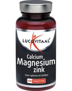 Lucovitaal Calcium Magnesium Zink tabletten 100 tabletten