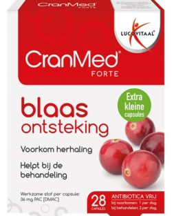 Lucovitaal CranMed Forte Blaasontsteking 28 capsules