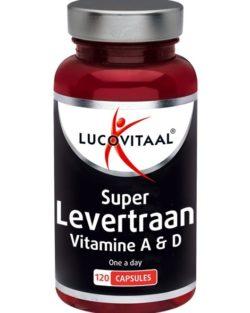 Lucovitaal Levertraan capsules met vitamine A & D 120 capsules
