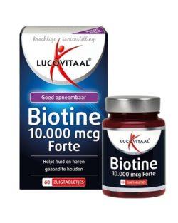 Lucovitaal Biotine 10.000 mcg Forte 30 zuigtabletten