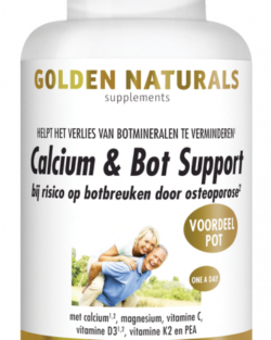 Golden Naturals Calcium & Bot Support 180 vegetarische tabletten