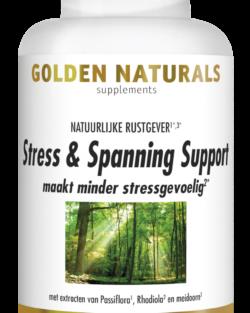 Golden Naturals Stress & Spanning Support 60 vegetarische capsules